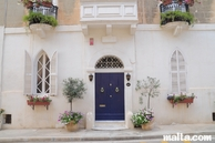 Front of a nice house in Attard