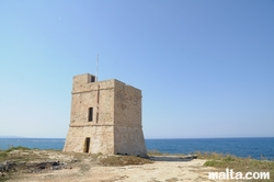 Ghallis Tower in Bahar Ic Caghaq