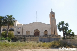 St Maria of Angels Church in Bahar Ic Caghaq