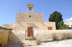 Maghtab chapel in Bahrija
