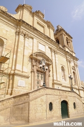 Collegial Parish Church of St Lawrence in Vittoriosa Birgu
