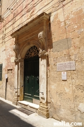 Front of the Auberge de France in Vittoriosa Birgu