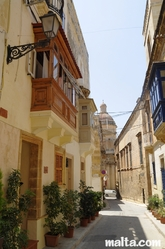 Narrow street of Vittoriosa Birgu