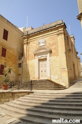 The Oratory of the Holly Crucyfix in Vittoriosa