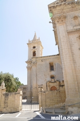 Steeple of the Old Church of Birkirkara