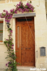 House door in fgura