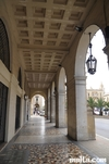 Arches of the St Anna Street in Floriana