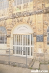 Entrance to the Floriana's Public Library