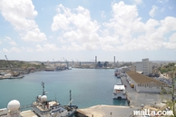 The Marsa Harbour from Floriana