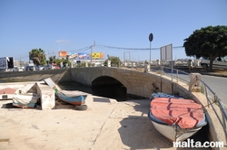 Bridge to Manoel Island in Gzira