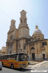 San gaetano Parish Church in Hamrun
