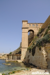 Old Building on Kalkara's sea side