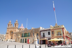 Parish church Square in Marsaxlokk