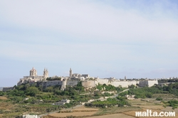 View of Mdina from Mtarfa