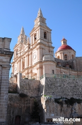The Mellieha Parish Church