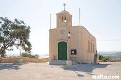 The new chapel of Our Lady of Ransom in Mellieha