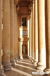 Column of the Mosta Dome