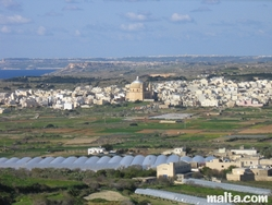 Dome in the middle of Mosta