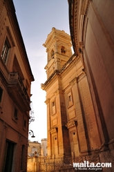 Steeple of the Mosta Dome