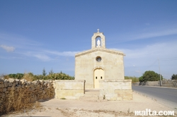 The Chapel of the Immaculate Conception in Mosta