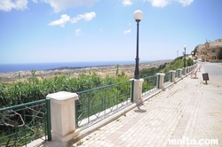 Belvedere of Nadur with beautiful views of Gozo