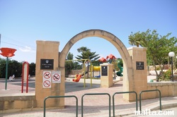 Children's playground in Nadur Gozo