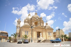 nadur parish church st. peter and st. paul.