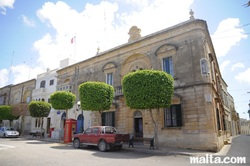 Nadur Police station and square