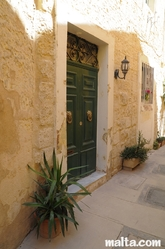 Maltese traditional door in Naxxar
