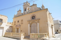 Twin churches of  Nativity of Our Lady and St. Lucy in Naxxar