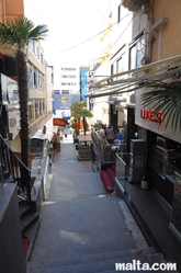 clubs In the stairs of Paceville