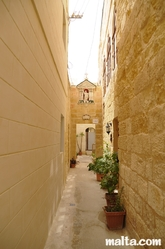 Narrow street in Rabat