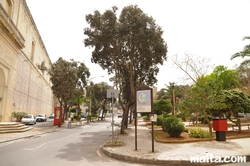 St Dominic Gardens in Rabat