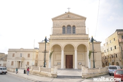 Our Lady of Lourdes parish church in St Gwann