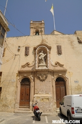 Church Porto Salvo in Senglea