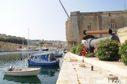 Dockyard creek between senglea and Victoriosa