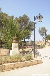 The gardjola Gardens in Senglea