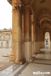 Column of the Sieggiewi's church