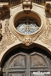 Details of the Sieggiewi's door