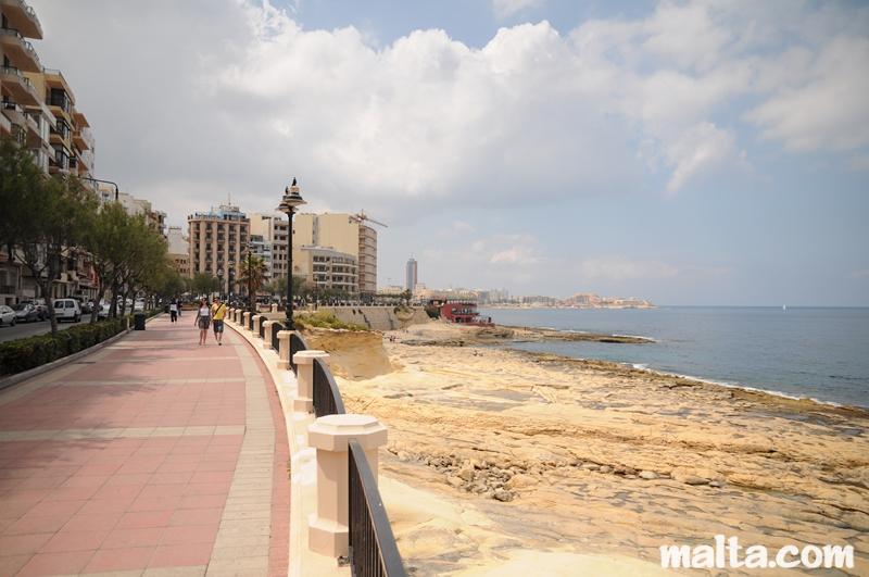 Malta strände sliema