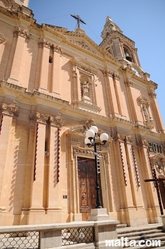 Another front of the Sliema Church