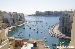 The Spinola Bay of St Julian's