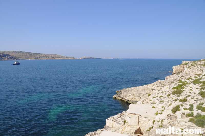 St Pauls Bay Malta  city pictures gallery : St. Paul's bay, a seaside village protected by St. Paul