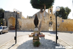 Madonna Statue near the Church of Tarxien