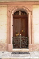 Nice house door in Tarxien