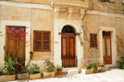 Nice house doors in Tarxien