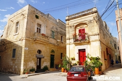 Nice villas and streets of Tarxien