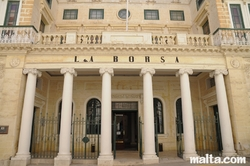 La Borsa in Valletta