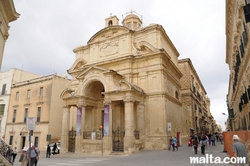 St Catherine of Italy Church in Valletta