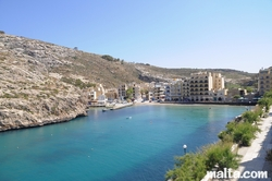 Xlendi valley and bay gozo